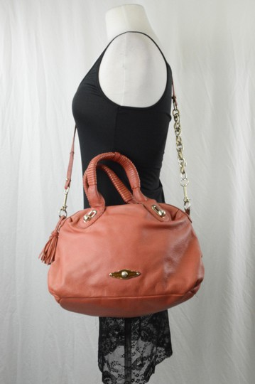 Elliott Lucca Spring Leather Saks Shoulder Bag Image 1