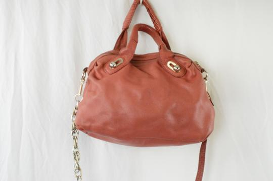 Elliott Lucca Spring Leather Saks Shoulder Bag Image 2