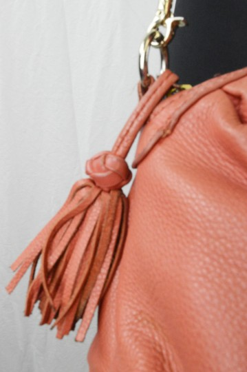Elliott Lucca Spring Leather Saks Shoulder Bag Image 4