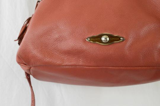 Elliott Lucca Spring Leather Saks Shoulder Bag Image 6
