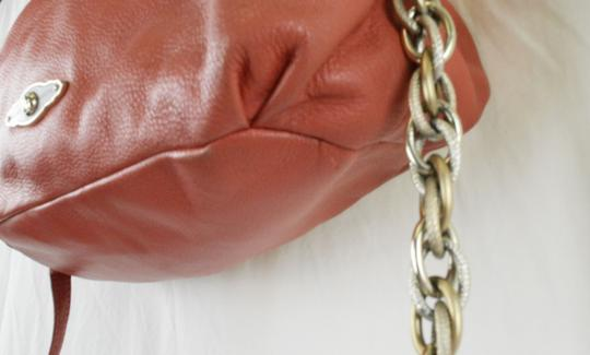 Elliott Lucca Spring Leather Saks Shoulder Bag Image 7