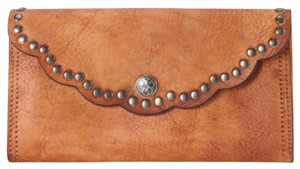Amor Adore High Quality Genuine Leather Studded Wallet