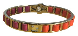 Fendi Purple & Orange Napa Bracelet