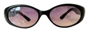 Gucci Sexy Vintage GUCCI G Logo Black Sunglasses With Case- Unisex