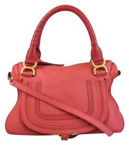 Chloé Satchel in Coral