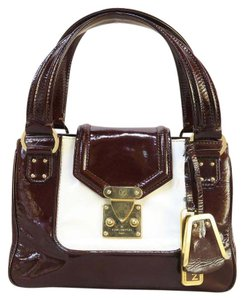 Louis Vuitton Lv Vernis Leather Tote in darkbrown