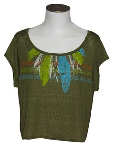 One Step Ahead Top Green