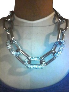 Jennifer Lopez Jennifer Lopez Chain Link Pave Necklace **NEW_No Tags**