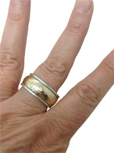 James Avery sterling silver, 14k yellow gold, fashion, wedding wide band ring