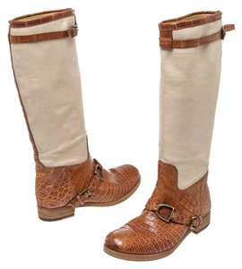 Ralph Lauren Collection Brown/Beige Boots