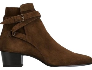 Saint Laurent CHOCOLATE BROWN Boots