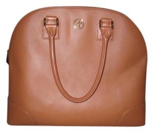 Tory Burch Leather Scratch-resistant Tote in Tiger's Eye