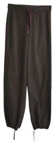 Lululemon tall parachure pants thick cotton forest green