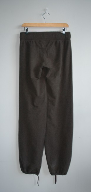 Lululemon tall parachure pants thick cotton forest green Image 1