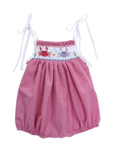 Classy Couture Bubble One Piece Romper Toddler Clothing Pink Halter Top