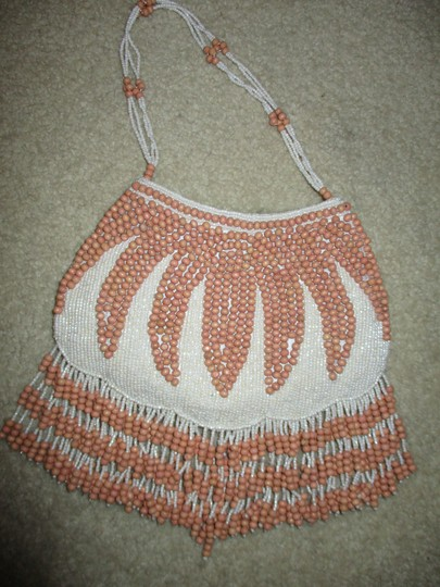 Page D. Fringed Beaded Evening Baguette Image 5