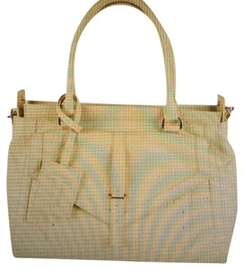 Tory Burch Satchel in Pastel Yellow