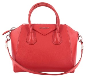 Givenchy Antigona Leather Satchel