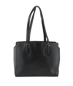 Louis Vuitton Lv Epi Leather Vintage Tote in Black