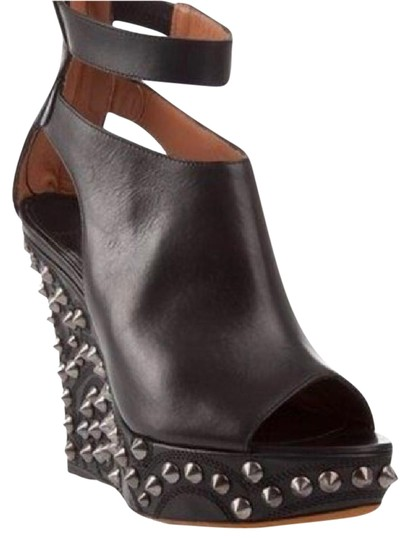 Preload https://img-static.tradesy.com/item/20713863/givenchy-black-studded-leather-sandals-wedges-size-us-6-regular-m-b-0-3-540-540.jpg