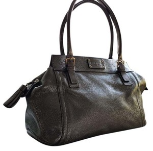 Kate Spade Satchel in grey metallic
