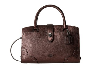 Coach Mercer 24 Satchel in Bronze