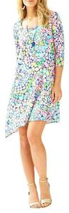 Lilly Pulitzer short dress Multi. Asymmetric Swing Gypsy Jungle on Tradesy