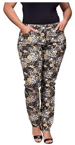 DISIANI Casual Jeans Women's Jeans Pattern Jeans Pattern Relaxed Pants Floral