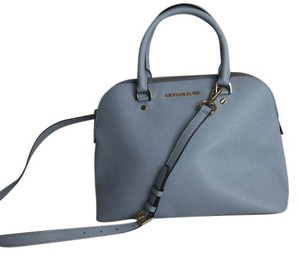 Michael Kors Spring Satchel in Pale Blue