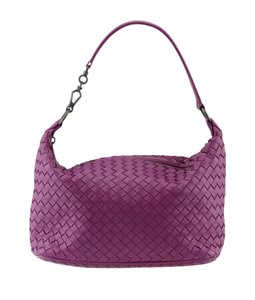 Bottega Veneta Bottega Leather Hobo Bag
