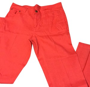Jones New York Straight Pants Coral