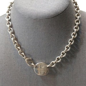 Tiffany & Co. **SOLD**Classic Oval Tiffany &Co. Necklace with original pouch