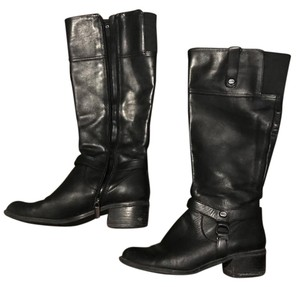 Bandolino Calliope Riding Black Boots