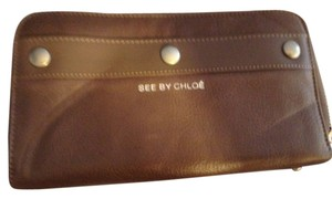 See by Chlo 100% Authentic See By CHLOE long zippered wallet