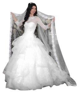 White By Vera Wang Vw351197 Wedding Dress