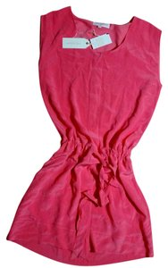 Tori Richard short dress pink Size 8 Summer on Tradesy