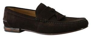 Gucci Lace Up 386550 Brown Formal