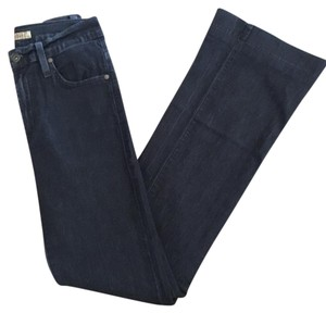 James Jeans Trouser/Wide Leg Jeans-Dark Rinse