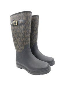 MICHAEL Michael Kors Brown Black Boots