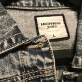 Highway Jeans Blue jean-Distressed wash Womens Jean Jacket Image 2