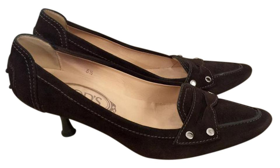 6f8f27635 Tod's Brown Driving Pointed Toe Loafer Pumps. Size: US 6.5 Regular (M ...