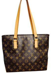 Louis Vuitton Lv Cabas Cabas Piano Lv Tote Tote Shoulder Bag