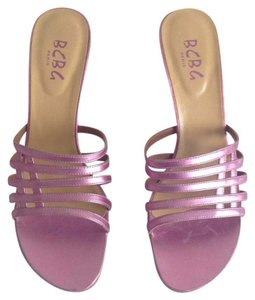 BCBG Paris Pink Sandals