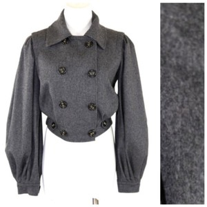 Dolce&Gabbana Charcoal Gray Jacket