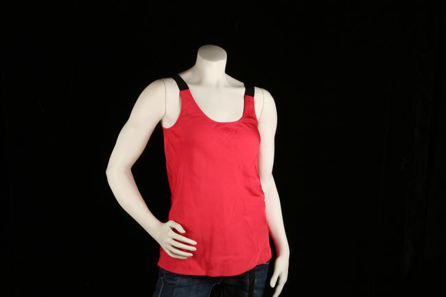 Theory Silk Orange Burnt Orange Camisole Blouse S Small New Top Red