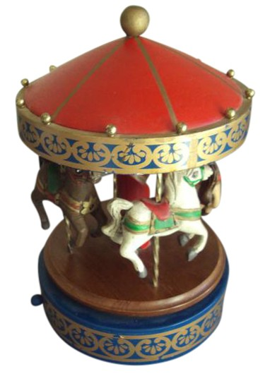 Preload https://img-static.tradesy.com/item/20715115/various-vintage-wood-wooden-carousel-musical-merry-go-round-1985-0-1-540-540.jpg