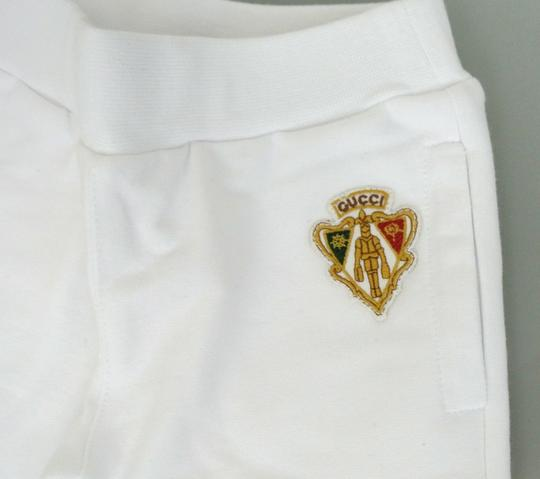 Gucci White Hysteria W New Kids Pants W/Hysteria Crest 6-9 Month 265394 Groomsman Gift Image 2