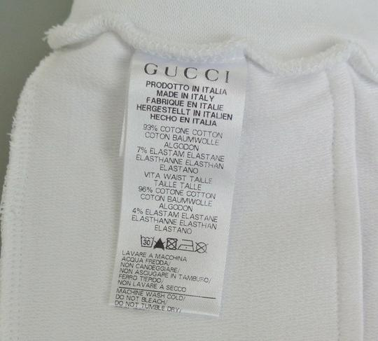 Gucci White Hysteria W New Kids Pants W/Hysteria Crest 6-9 Month 265394 Groomsman Gift Image 3