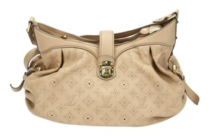 Louis Vuitton Mahina Leather Hobo Bag
