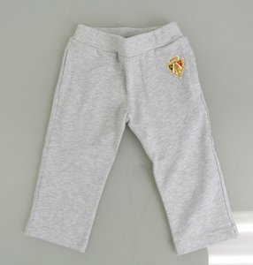 Gucci New Authentic Gucci Gray Pants W/hysteria Crest 6-9 Month 265394